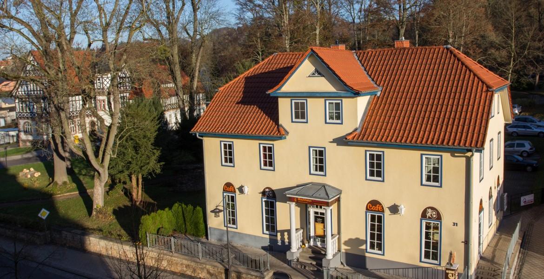 Außenansicht Ferienwohnungen Im alten Rathaus in Bad Liebenstein