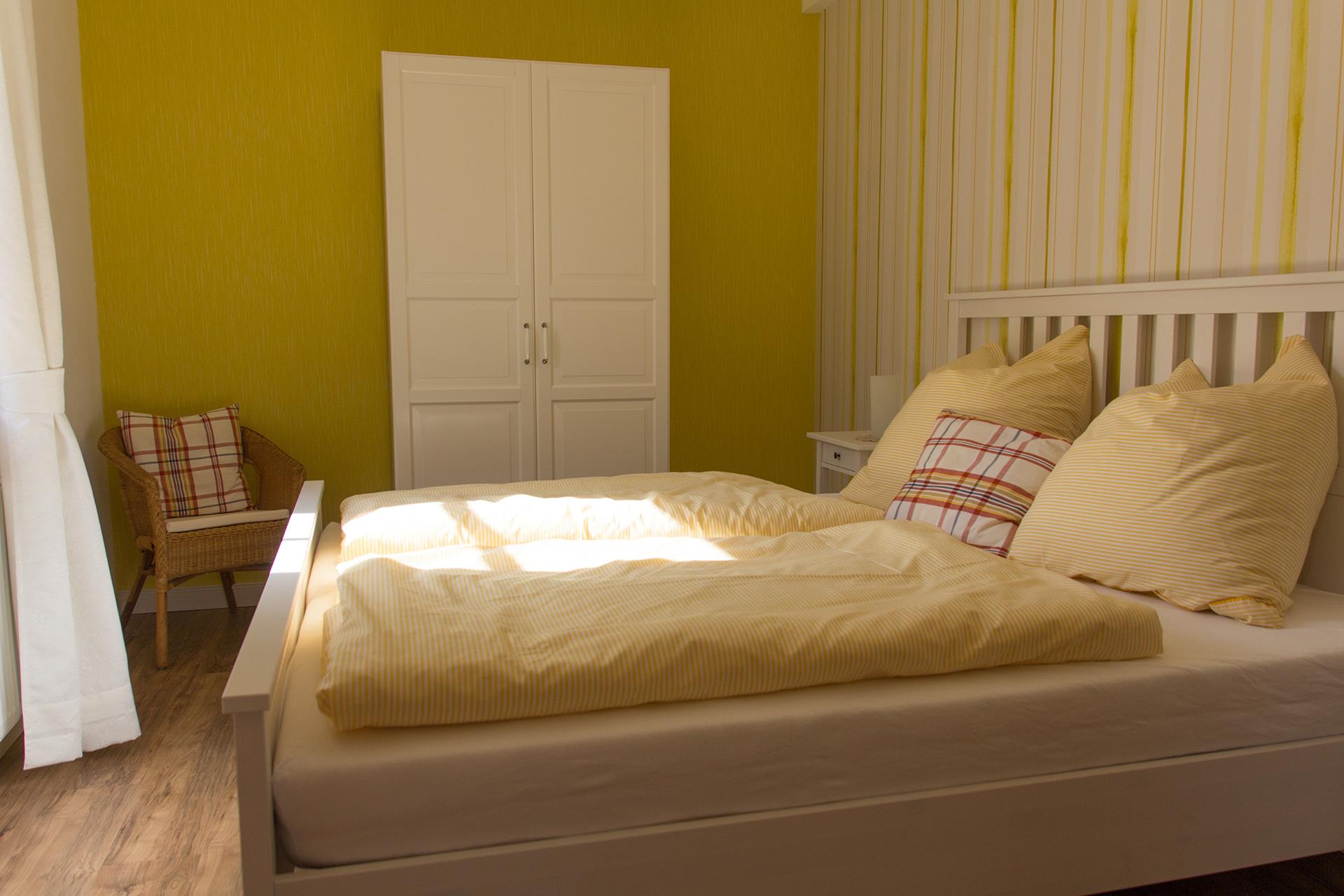 Ferienwohnung Amtsstube - Schlafzimmer