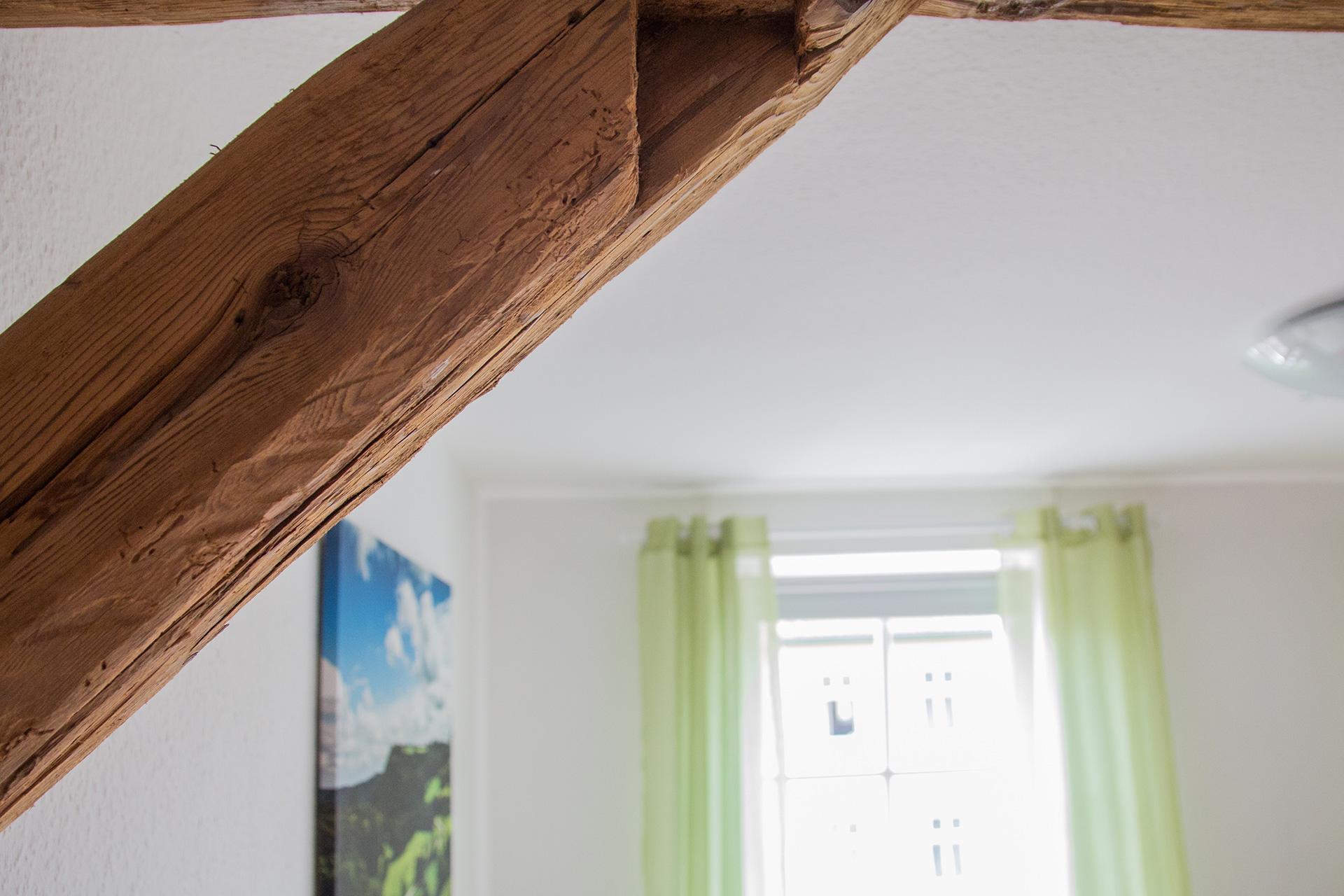 Ferienwohnung Schwalbennest - Wohnbereich