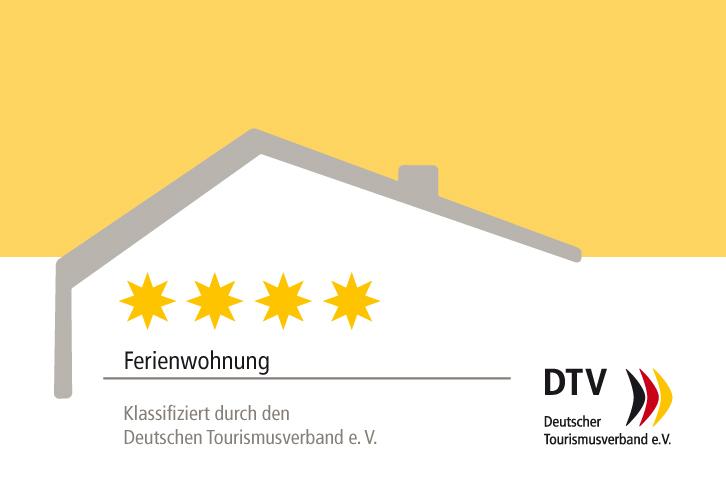 4-Sterne-Klassifizierung des Deutschen Tourismusverband e.V.