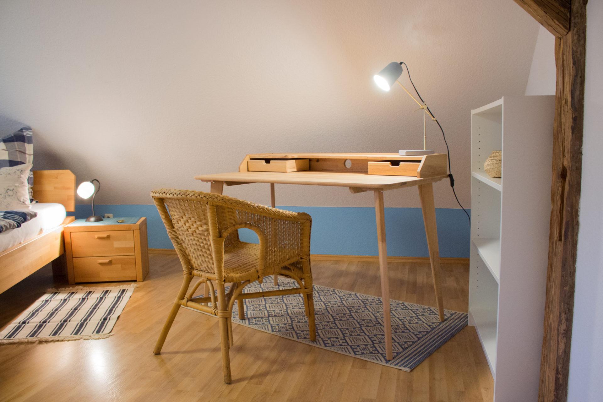 Ferienwohnung Schwalbennest - Schlafzimmer